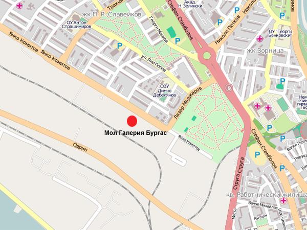 Синема Сити Бургас адрес