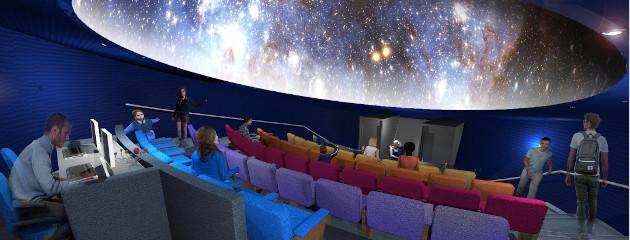 Планетариум и Детски научен център в сградата на Морска гара