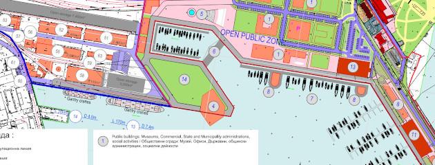 Новият площад на Бургас