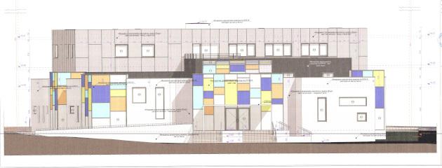 Нова сграда за  Младежки международен център в Меден рудник
