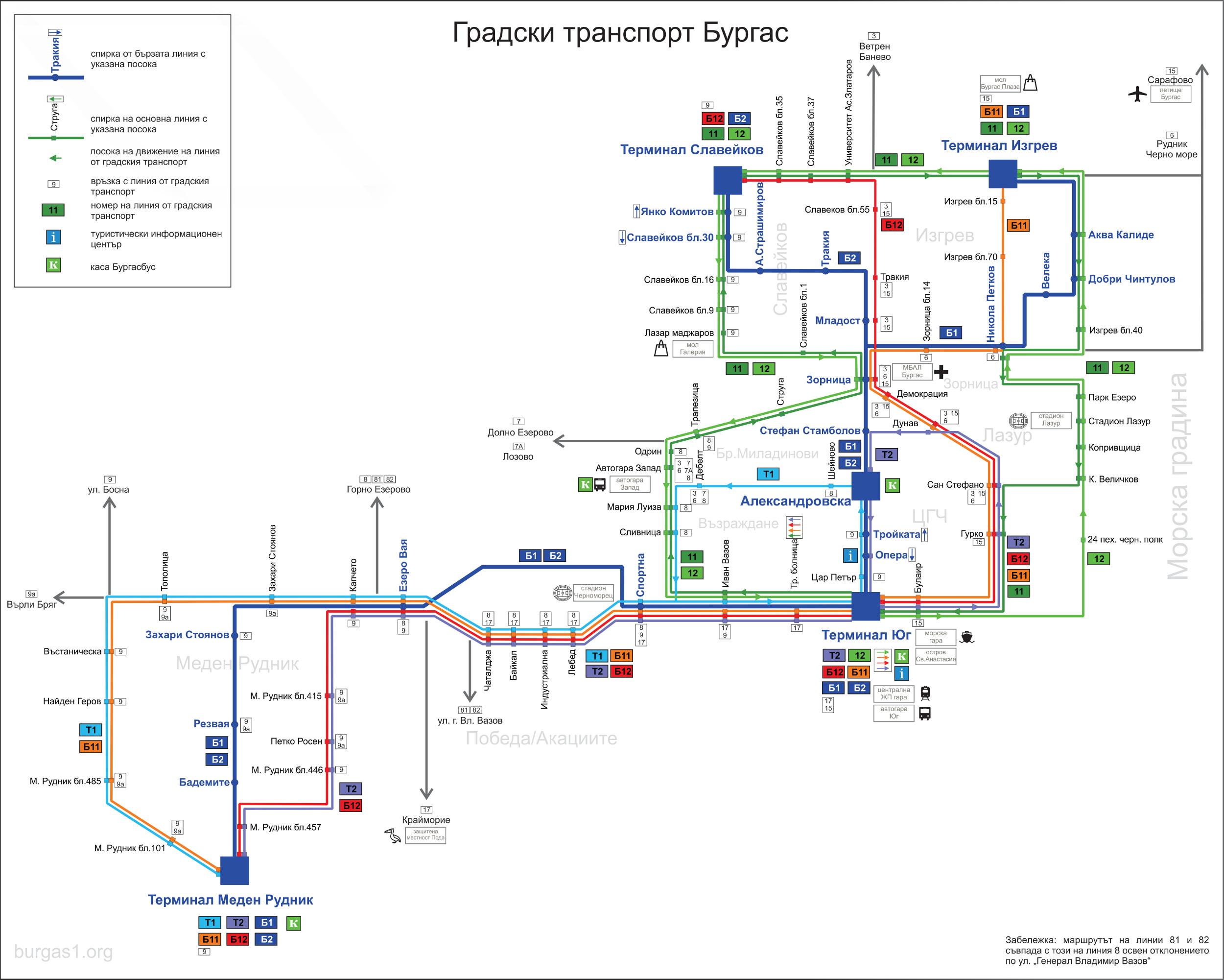 градски транспорт Бургас