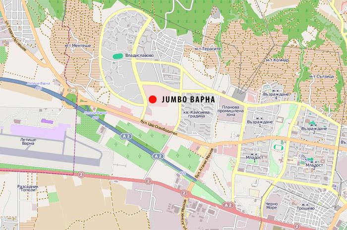 Karta 2019 Jumbo Varna Karta