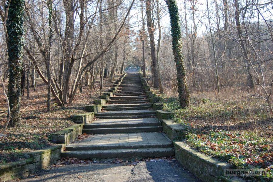 Айтос парк Славеева река